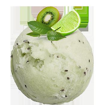 <small>Smak</small> Zielonej Herbaty<br><small>z limonką i kiwi</small>