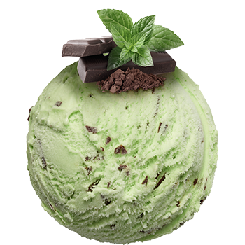 Mint<br><small>and chocolate</small>