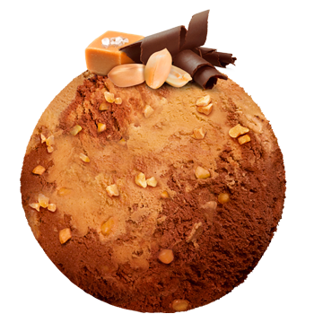 Salted Caramel - Chocolate with peanuts
