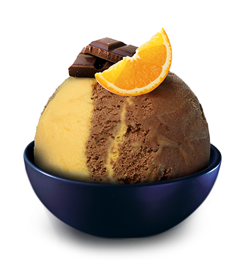 Orange-Chocolate<br><small>with orange sauce</small>